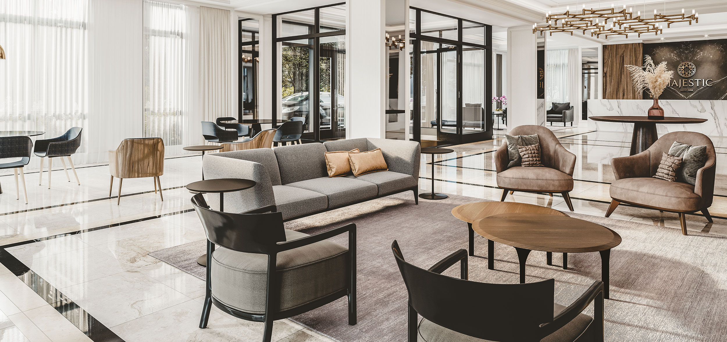 Salon de luxe Majestic JOIA
