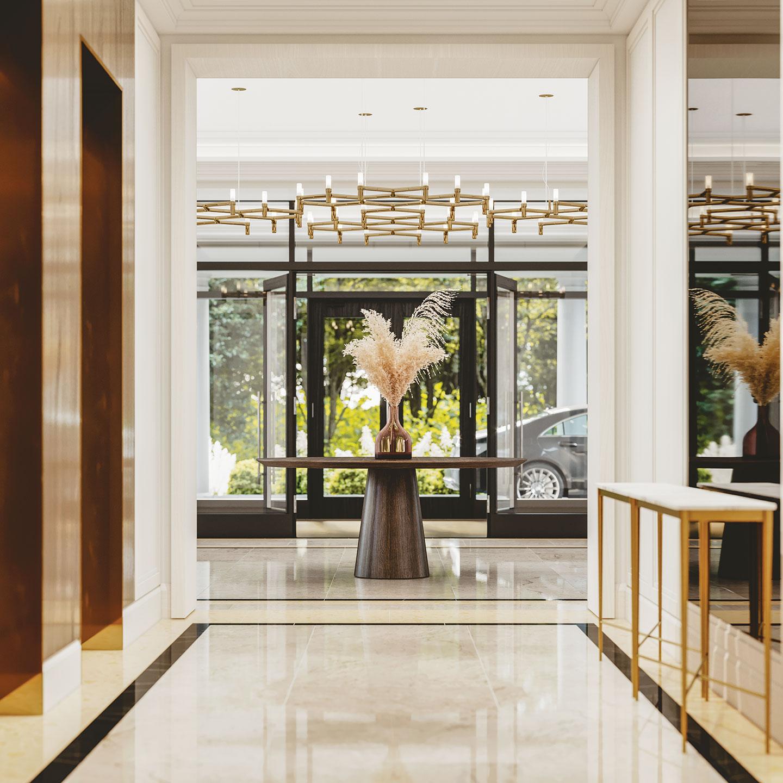 Hall condominium Majestic